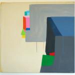 """living box"", akryl på treplate, 60 x 60 cm, 2012"