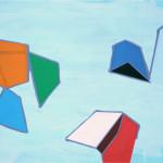 """""""en ufullstendig sammenheng"""", 2012, akryl på treplate, 60 x 40 cm"""