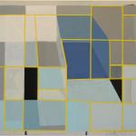 """""""Inngang I"""", 80 x 90 cm, akryl på treplate, 2012"""