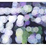 """reflections"", akryl på treplate, 60 x 42 cm, 2009"