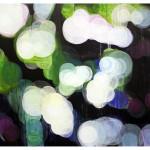 """lights and shadows I"", akryl på treplate, 122 x 90 cm, 2009"