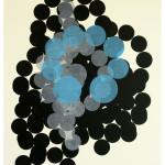 """blå variabel"", 71 x 100 cm, 2006"