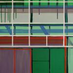 """""""fasade"""", akryl på treplate, 50 x 75 cm, 2012"""