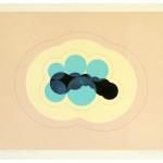 """""""liv - form I"""", 70 x 62 cm,woodcut and digital print, 2004"""