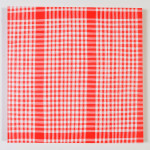 """""""en ordnet helhet I"""", 60 x 60 cm, akryl på lerret, 2014"""