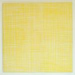 """sunny grid"", 80 x 80 cm, 2014"